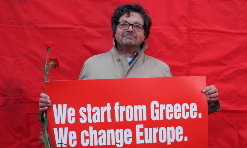 WE START FROM GREECE WE CHANGE EUROPE