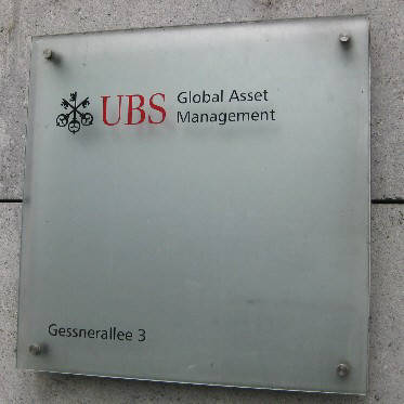 UBS Global Asset Management. Gessnerallee 3, 8001 Zürich. Zurich Switzerland